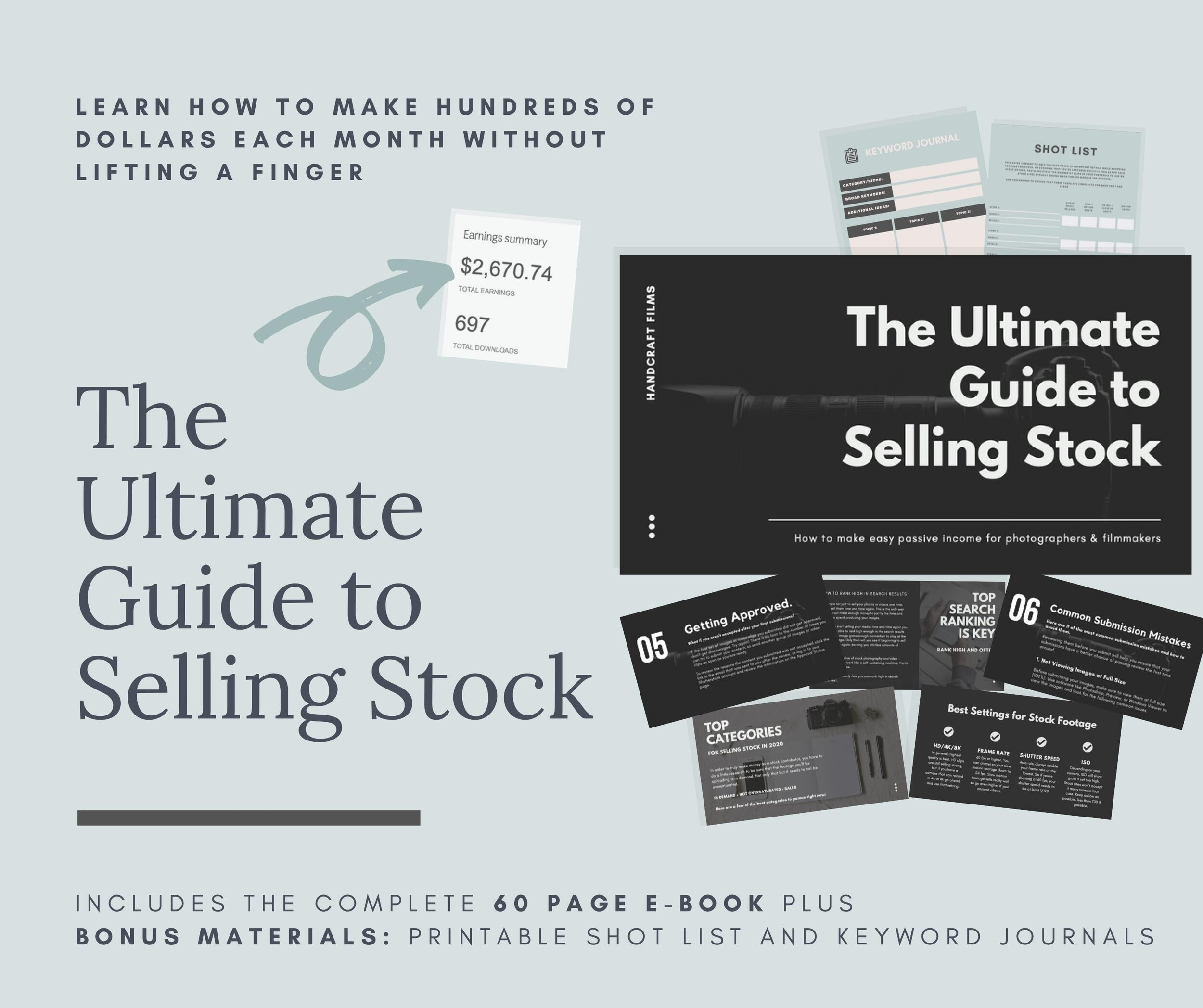 Ultimate Guide to Selling Stock Ebook