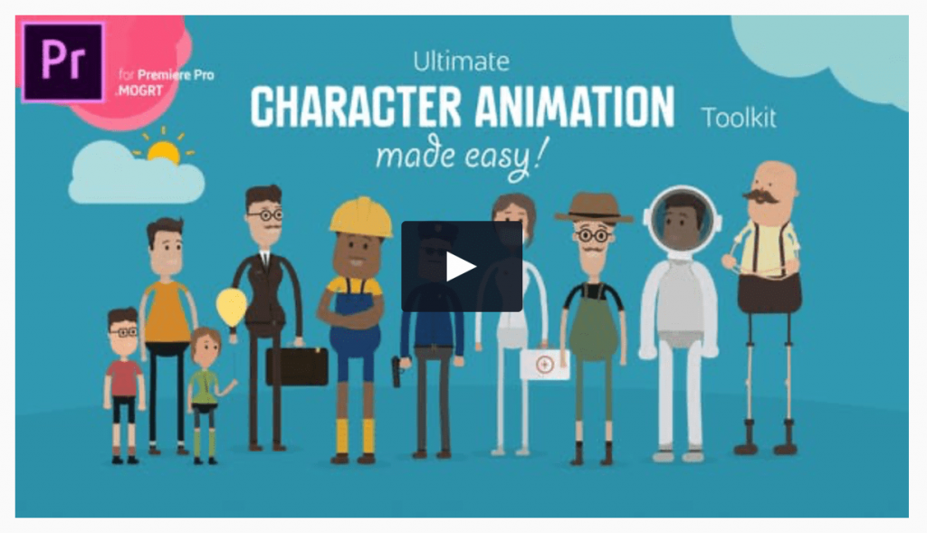 Premiere Pro Character Animation Kit